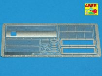 Aber Grilles for Russian KV-I and Russian KV-II (Trumpeter)