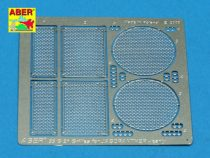Aber Grilles for Jagdpanther Ausf.G1 early (Dragon)