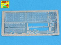 Aber Grilles for Russian tank T-55A also for ENIGMA (Tamiya)