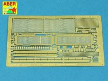 Aber Grilles for Russian Tank T-55AM also for T-55AMV (Takom)