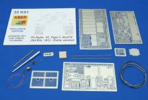 Aber Pz.Kpfw.VI Ausf.E (Sd.Kfz.181) Tiger I - Early version set