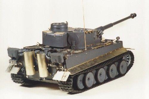 Aber Pz.Kpfw.VI Ausf.E (Sd.Kfz.181) Tiger I - Early (Tamiya)