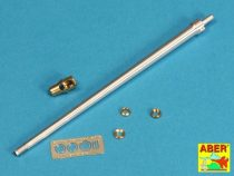Aber German 7,5cm gun barrel /w muzzle brake for Panther Ausf.D/A& early G (Dragon, Italeri)
