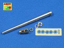 Aber German 105 mm LeFH 18M/2 L/28 Barrel with muzzle brake also for Wespe Sd.Kfz.124 (Tamiya)
