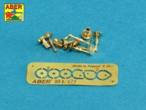 Aber Set of gun barrel tips for MG 08 x 3 pcs. And barrel tips for MG 08/15 x 3 pcs