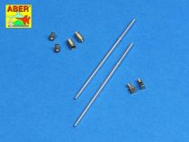 Aber Set of barrels for Russian BMPT 'Terminator' Fire Support Combat Vehicle 2 x 2A45 mm, 2 x AGS-17 30mm (Meng Model)