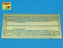 Aber Fenders for Stug. III Ausf.B Pz.Kpfw.III Ausf.L (Tamiya)
