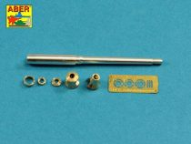 Aber German 88mm KwK 36 L/56 Tiger.I (Early) Barrel (AFV Club, Tamiya)