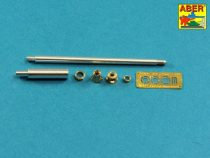 Aber German 88mm KwK 43/3 L/71 Late Barrel for King Tiger - Production Turret (Tamiya)