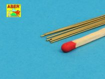 Aber Brass Round Rods dia 0,5mm, length 245mm