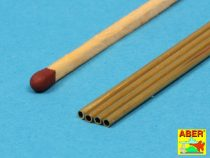 Aber Brass Tubes 1.5x0.2mm length 245mm