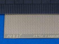 Aber Engrave Plate 140x39mm Brass - pattern 17