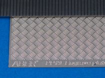 Aber Engrave Plate 140x77mm Brass - Modern Type 5x5 strips 1:24/25 scale