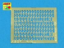 Aber Numbers & Letters 1,5mm