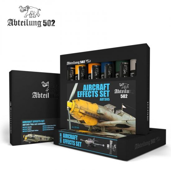 Abteilung 502 VEHICLE WEATHERING AND EFFECTS SET