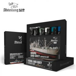 Abteilung 502 NAVAL AND GREYS EFFECTS SET