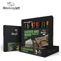 Abteilung 502 Leather and Wood Colors Set
