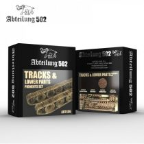 Abteilung 502 TRACKS AND LOWER PARTS PIGMENT SET
