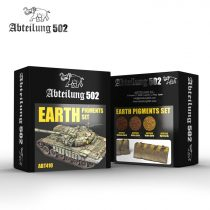 Abteilung 502 EARTH PIGMENTS SET