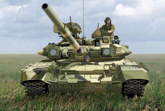 Ace Model T-90 Modern Russian MBT makett