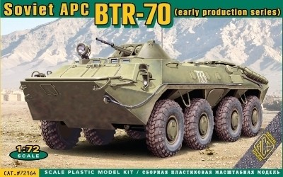 Ace Model BTR-70 Soviet Armored Personnel Carrier makett