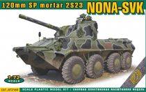 Ace Model Nona-SVK 120 mm SP mortar 2S23 makett