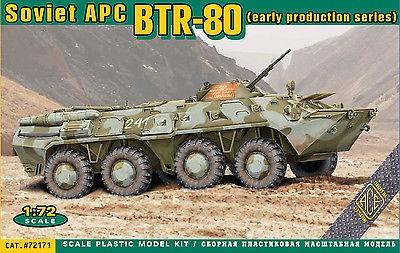Ace Model BTR-80 Soviet APC Early makett