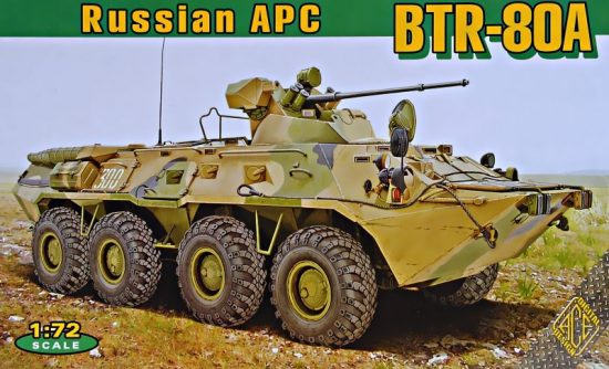 Ace Model BTR-80A Soviet APC