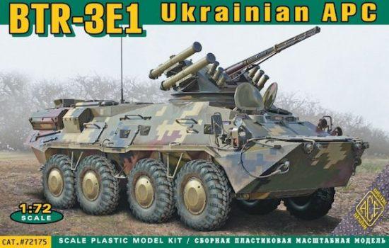 Ace BTR-3E1 Ukrainian APC makett