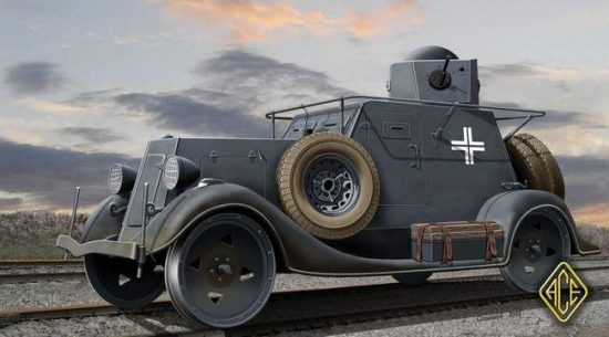 Ace Model Ba-20ZhD Railroad Version makett