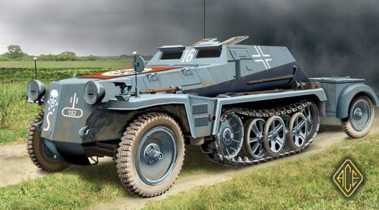 Ace Model Sd.Kfz.252 makett