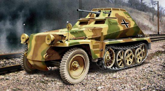 Ace Model Sd.Kfz.250/9 Leicht. Schützenp.wagen (2cm) makett