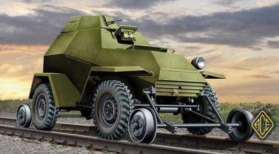 Ace Model Ba-64ZhD with Railway Track Set makett