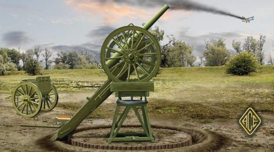 Ace Model Russian 3 inch WW I AA Gun