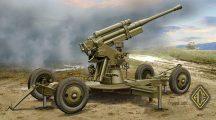 Ace Model 52-K 85mm Soviet Heavy AA Gun (early version)