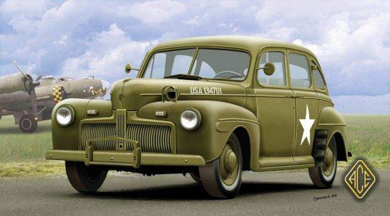 Ace Model US Army Staff Car model 1942 makett