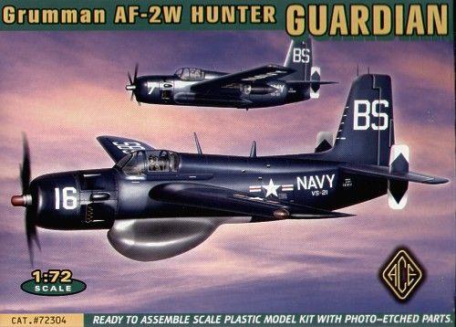 Ace Model Grumman AF-2W Guardian makett