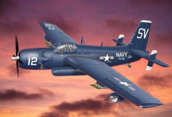 Ace Model Grumman AF-2S/3S Killer Guardian makett