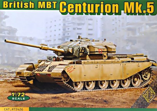 Ace Model Centurion Mk.5 British main battle tank makett