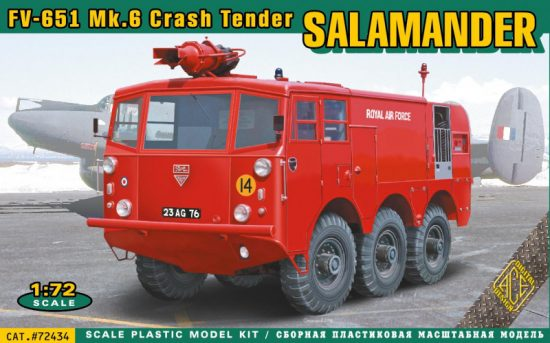 Ace Model FV-651 Mk.6 Salamander crash tender makett