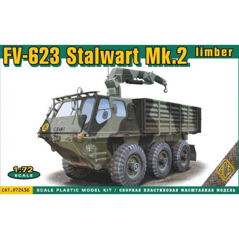 Ace Model FV-623 Stalwart Mk.2 limber vehicle makett