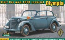 Ace Model Olympia (cabrio) staff car, model 1938 makett