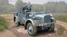 Ace Model Kfz.4 WWII German AA motor vehicle