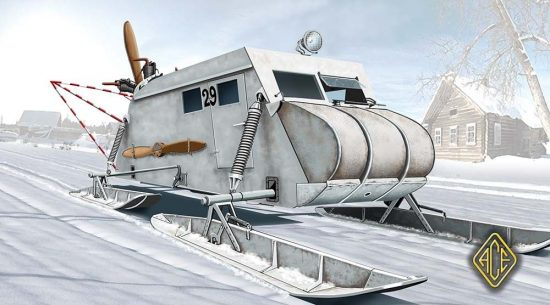 Ace Model Soviet Armored Aerosan NKL-16/41