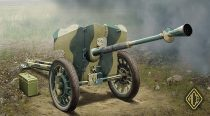 Ace Model S.A:I Mle 1937 French 25mm Anti-tank gun makett