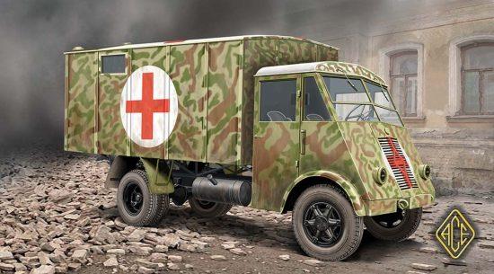 Ace AHN French 3,5t Medical Van