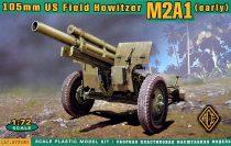 Ace Model US 105mm howitzer M2A1 w/M2 gun carriage makett