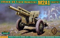Ace Model US 105mm howitzer M2A1 w/M2 gun carriage makett