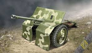 Ace Model PstK/36 Finnish 37mm anti-tank gun makett