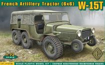 Ace Model W-15T French WWII 6x6 artillery tractor makett